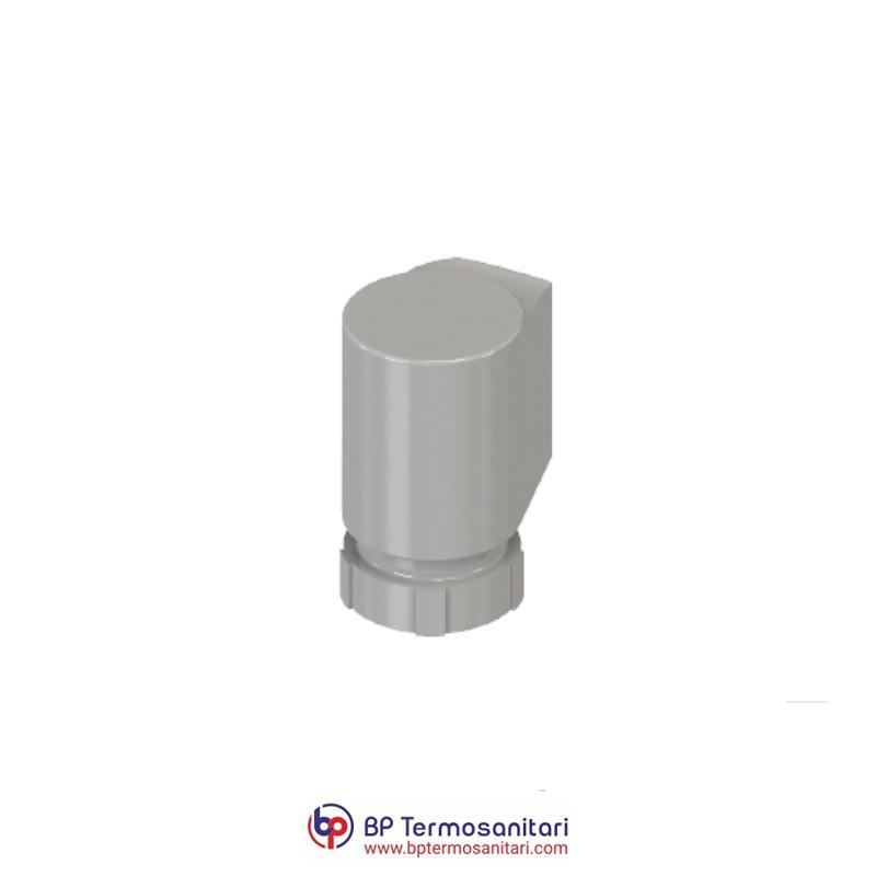Attuatore elettrotermico per valvola miscelatrice in funzione deviatrice