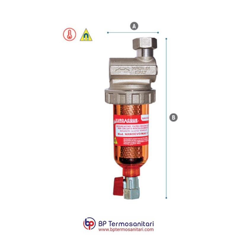 NANO EVO/MAG Defangatore filtro magnetico Eurocque Bp Termosanitari