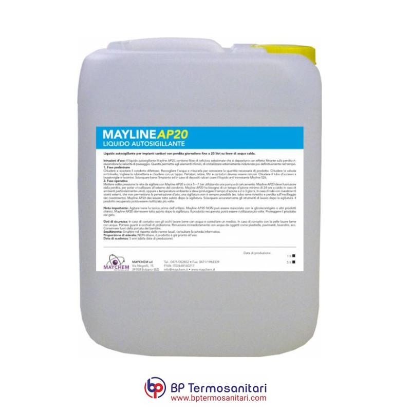 Mayline AP20 Liquido Autosigillante per impianti sanitari Maychem Bp Termosanitari