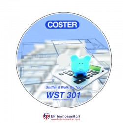 WST 301 Sniffer & Walk-By tool per sistema ripartitori Coster Group Bp Termosanitari