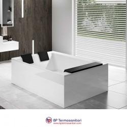 Vasche - Divina Dual - installazione freestanding - idromassaggio