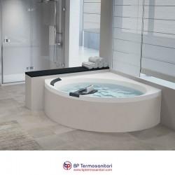 Vasche - Divina C - Vasca simmetrica semicircolare - idromassaggio