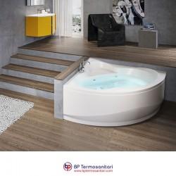 Vasche - Una - Vasca simmetrica semicircolare - idromassaggio