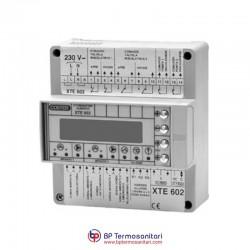 XTE 602 Doppio ottimizzatore climatico predisposto alla telegestione Bp Termosanitari  Gruppo Coster