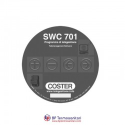SWC 701 Programma per telegestione Gruppo coster Bp Termosanitari