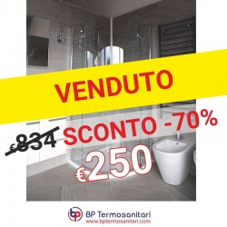 BOX DOCCIA SEMITONDO - 90X90