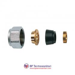 8427 - KIT di tenuta in gomma a compressione per tubo rame