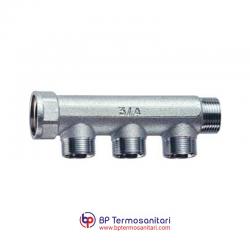 3300-3350-3400 - Collettore M-F cromato