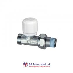 1630 - Valvola termostatizzabile diritta, attacco tubo rame