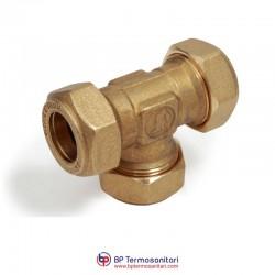 R564 Raccordo a T, per tubi in rame