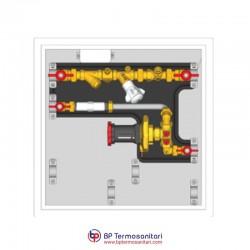 GE555-4 Moduli di utenza con valvola di controllo pressione differenziale