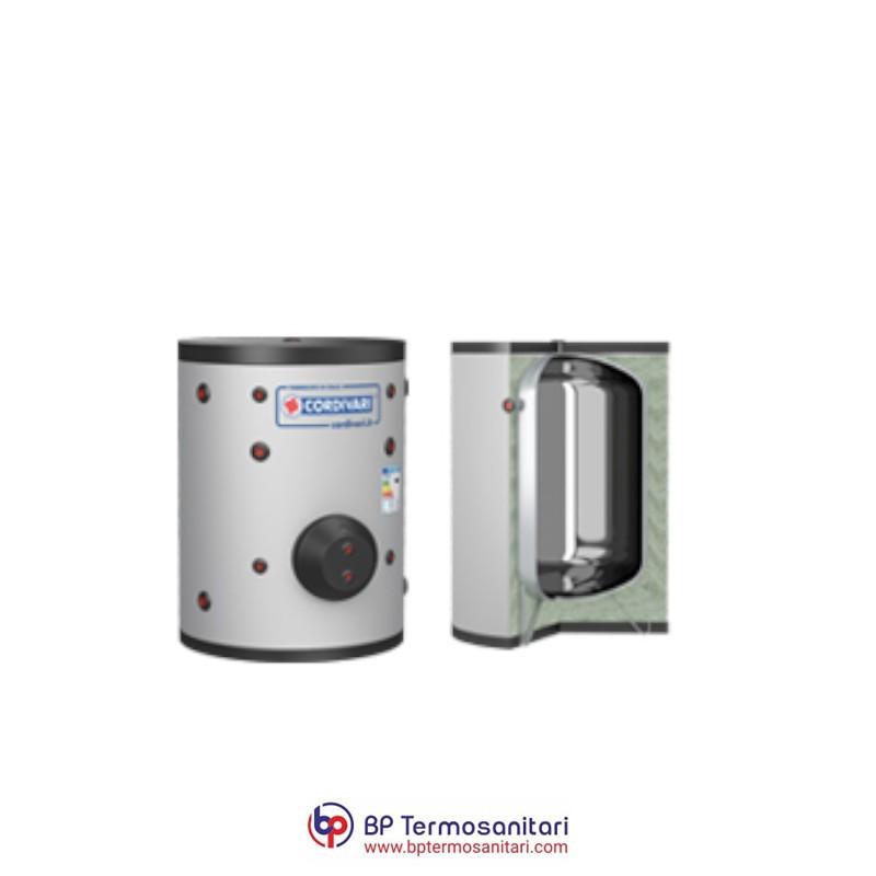 VASO INERZIALE INOX COMPACT CORDIVARI BP TERMOSANITARI