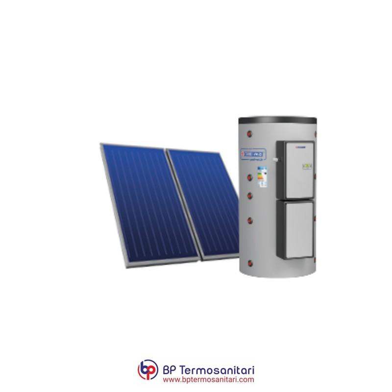 SISTEMA TERMICO SOLARE PUFFERMAS 3 CTS POWER CORDIVARI BP TERMOSANITARI