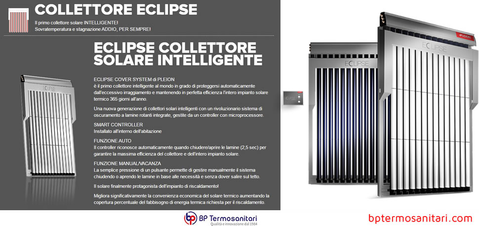 ECLIPSE COLLETTORE SOLARE INTELLIGENTE pleion it