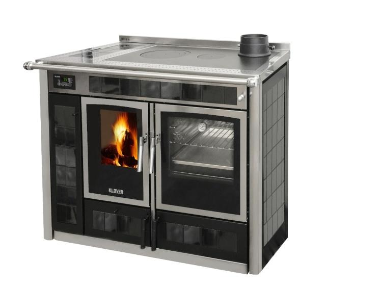 La Klover presenta la nuova termocucina a legna Altea 110 possibile ...